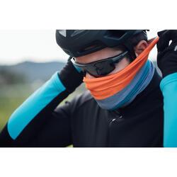 Fietsnekwarmer Roadr 100 blauw en muntgroen