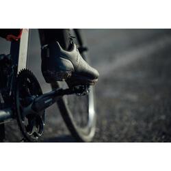 Fahrradschuhe Rennrad RC 500 (für SPD Cleats) SCHWARZ