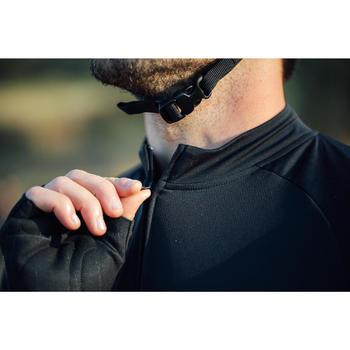 Wielershirt RC100 met korte mouwen heren zwart