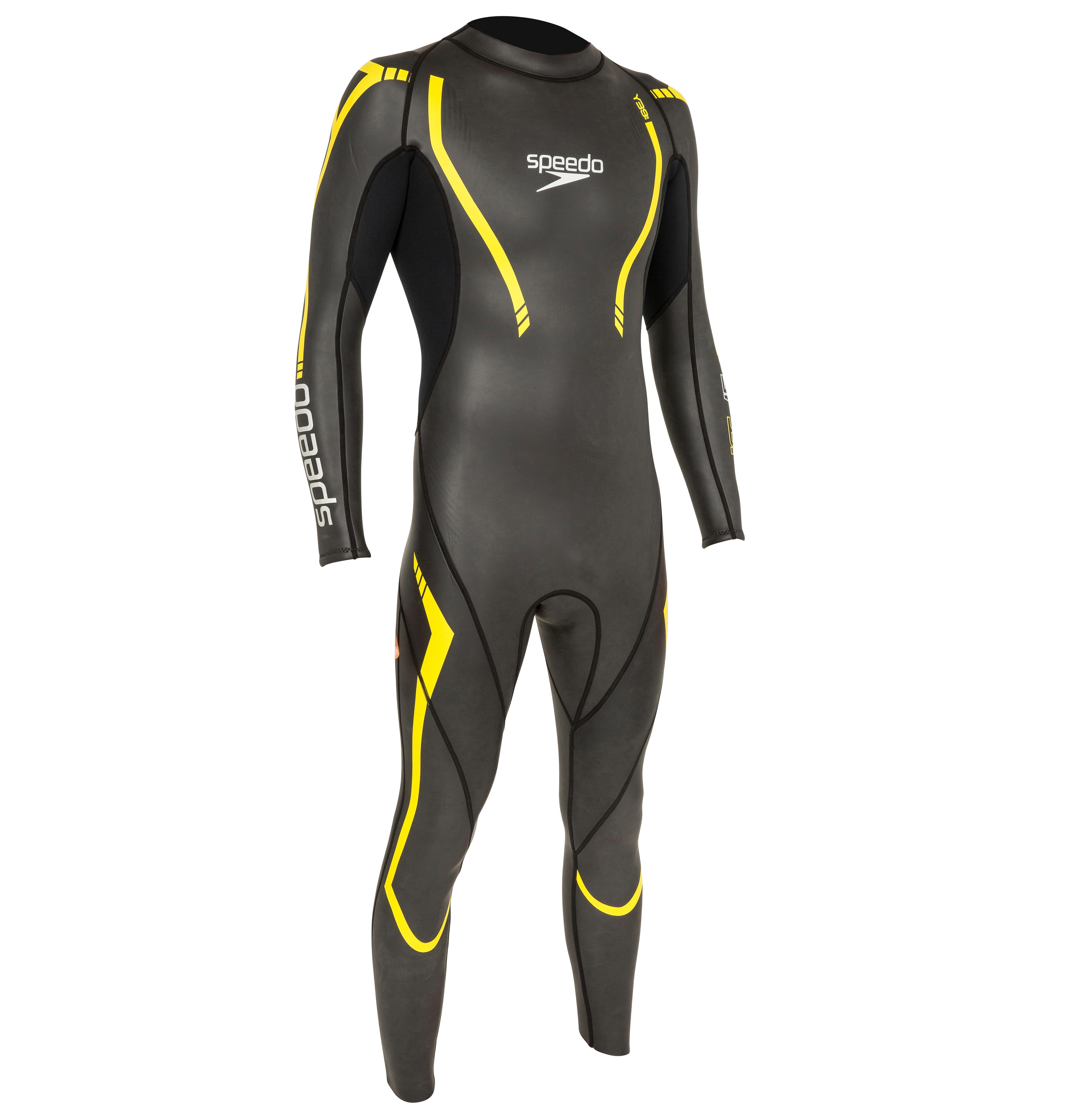 Zwempak Thinswim 2.0 blauw-geel Speedo