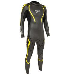 Zwempak Thinswim 2.0 voor open water blauw/geel Speedo