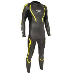 Schwimmanzug Thinswim 2.0 schwarz/gelb