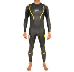 Zwempak Thinswim 2.0 voor open water blauw/geel Speedo - 160464