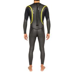 Zwempak Thinswim 2.0 voor open water blauw/geel Speedo - 160468