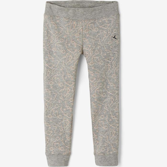 Baby Gym Leggings 500 - Grey
