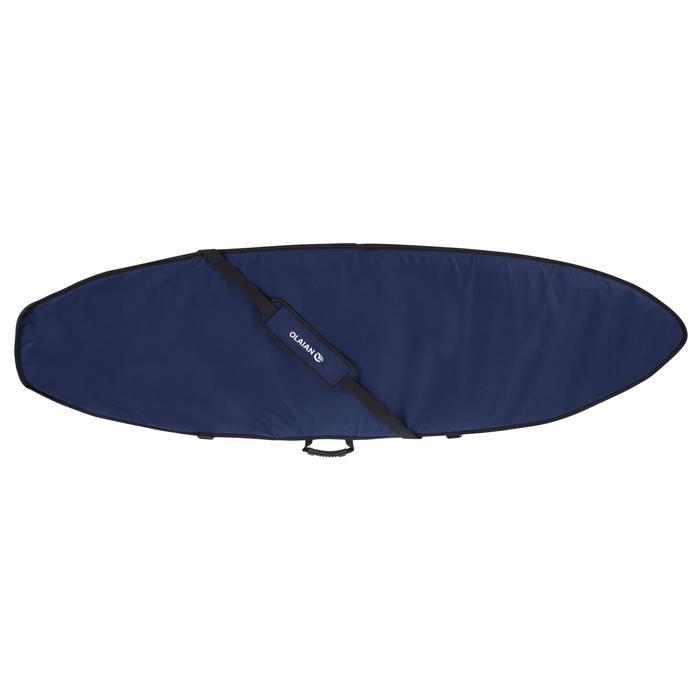 """Boardbag voor surftrip 900 voor surfboard van maximum 7'3 x 22"""""""