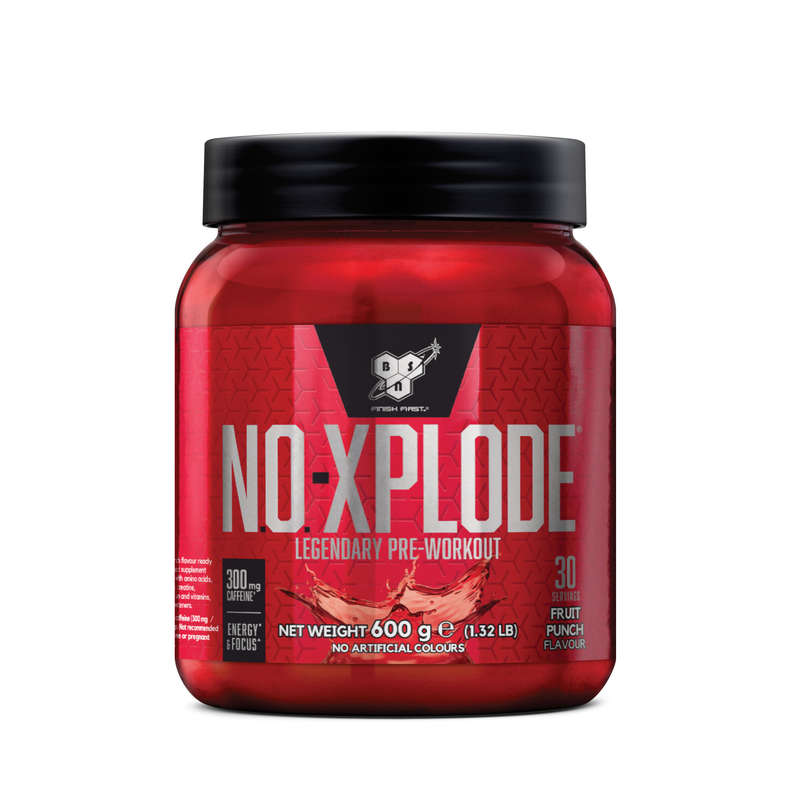 PROTEINE ȘI SUPLIMENTE ALIMENTARE Fitness Cardio, Bodybuilding, Crosstraining, Pilates - BSN NO-XPLODE 600g Fructe BSN - Proteine si suplimente alimentare