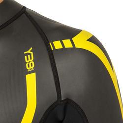 Zwempak Thinswim 2.0 voor open water blauw/geel Speedo - 160488