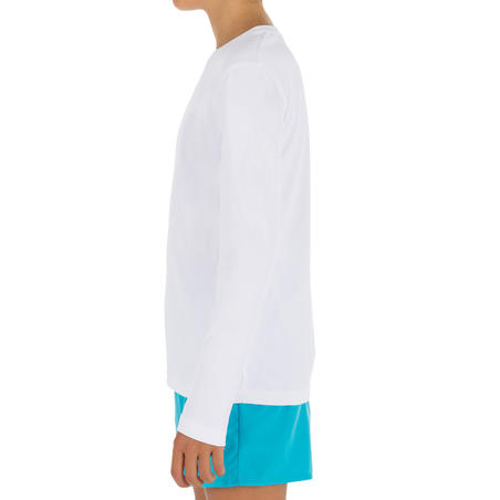 Kids' Long Sleeve UV Protection Surfing Water T-Shirt