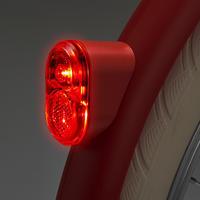 Elops 520 Rear Dynamo LED Bike Light - Red