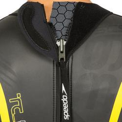 Zwempak Thinswim 2.0 voor open water blauw/geel Speedo - 160490