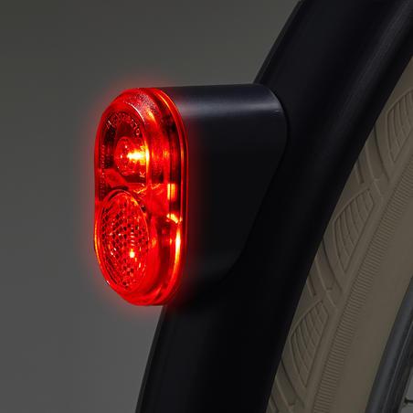 Elops Rear Dynamo Bike Light - Fake Blue