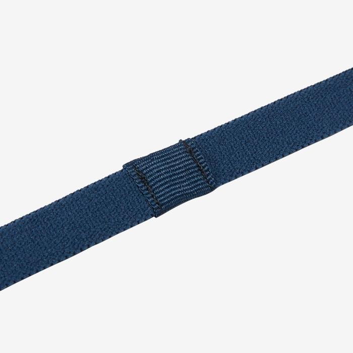 Set van 3 haarbanden voor gymnastiek S900 meisjes lichtblauw-marineblauw-blauw