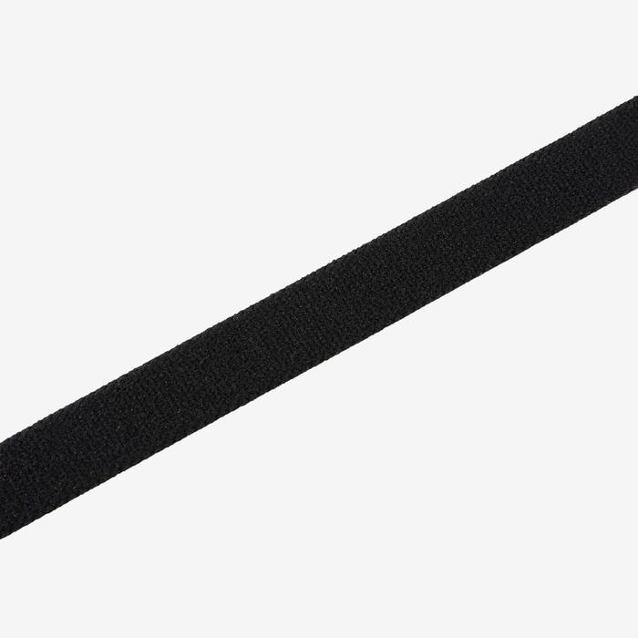Set van 3 haarbanden voor gymnastiek S900 roze-zwart-lichtroze AOP