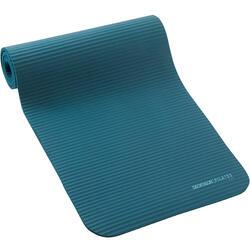 100 Comfort Pilates Floor Mat Size S 10 mm - Blue