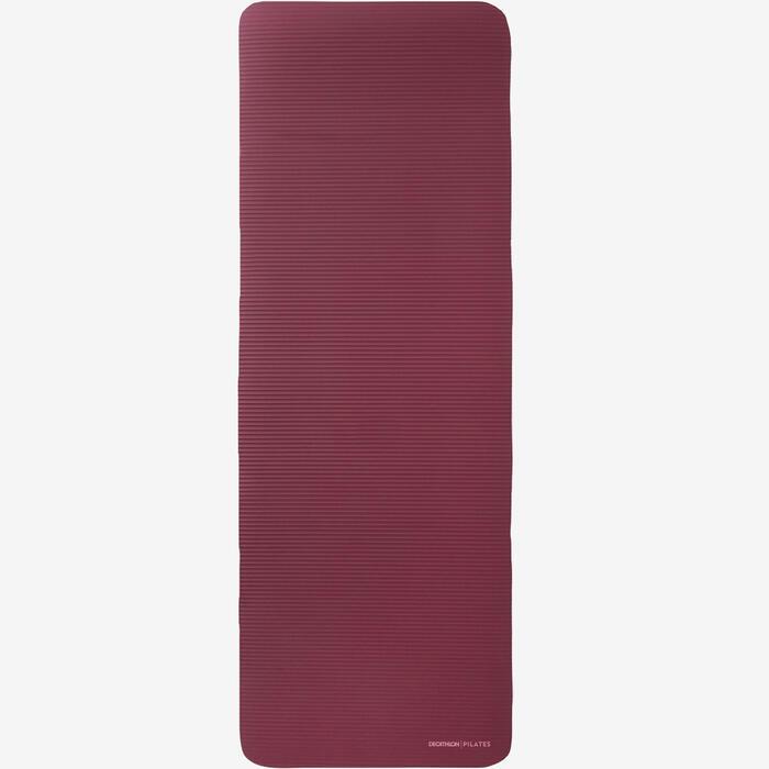 Gymmat 500 Comfort pilates maat M 15 mm bordeaux