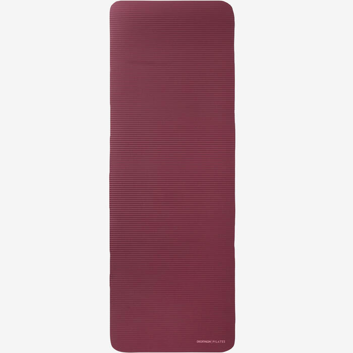 TAPIS DE SOL CONFORT FITNESS 180cmx63cmx15mm BORDEAUX