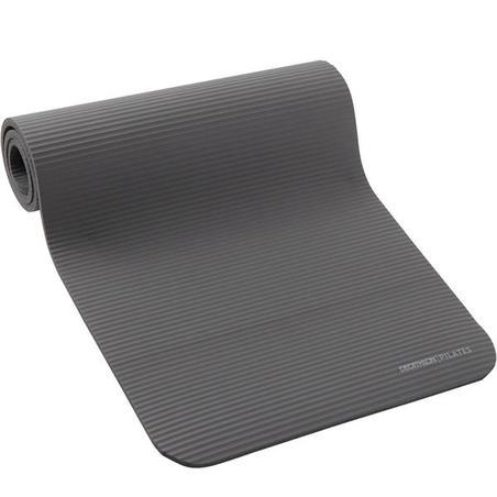 Comfort Pilates Floor Mat - Grey/Size M 180 cm x 60 cm x 15 mm