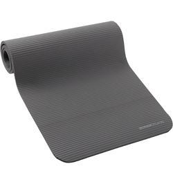 500 Comfort Pilates Floor Mat Size M 15mm - Grey