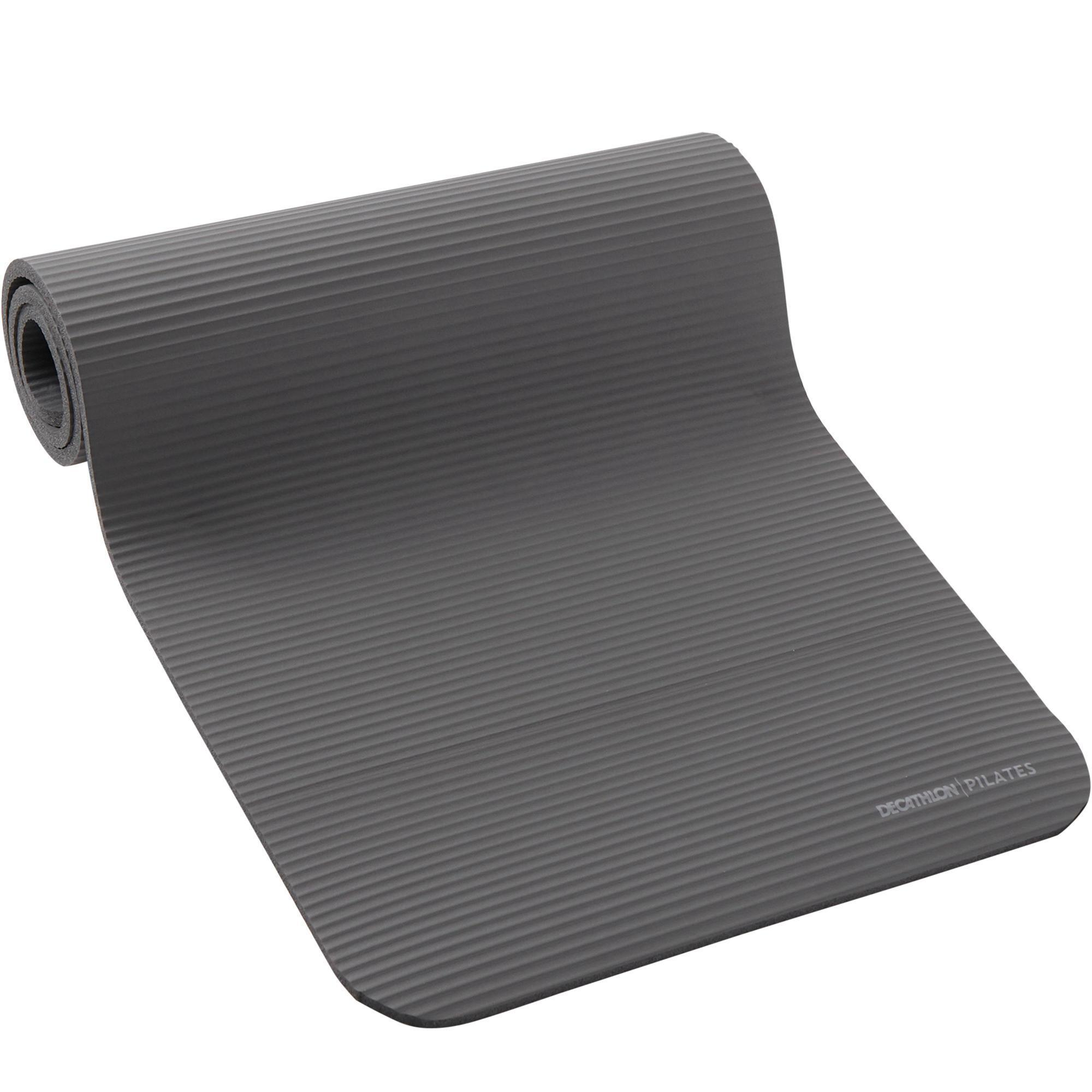 Domyos Pilatesmatje 500 Comfort maat M 15 mm grijs kopen? Sport>Trainingsmateriaal>Trainingsmatjes met voordeel vind je hier