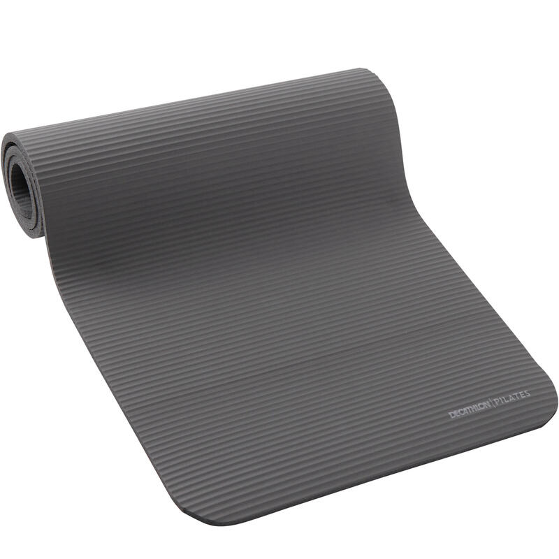 Tappetino pilates 500 COMFORT M 180x60x1,5cm grigio