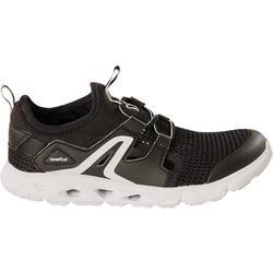 Kids' Walking Shoes PW 500 Fresh - black