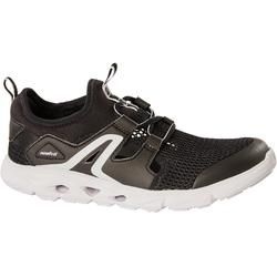 Kids' Walking Shoes PW 500 Fresh - black