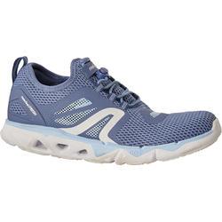 PW 500 Fresh women's fitness walking shoes blue