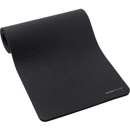 Tapis pilates confort taille L 190cmX70cmX20mm noir