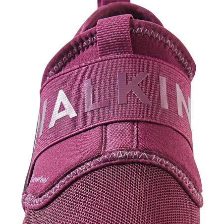 PW 160 Slip-on Women's Fitness Walking Shoes - Purple