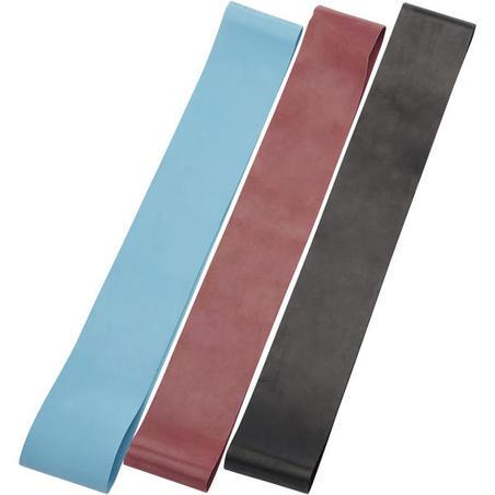 Mini Latex Sports Elastic Bands Three-Pack