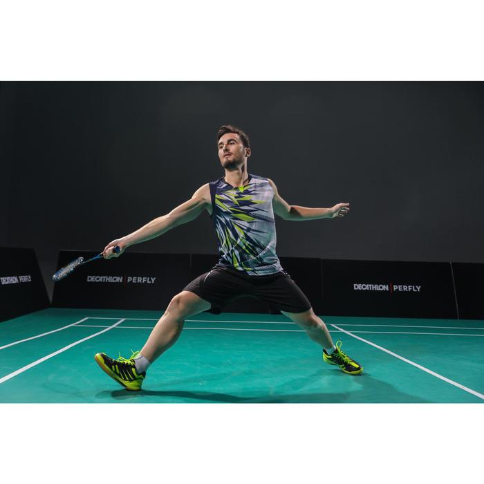 Badmintonshirt voor heren 990 wit