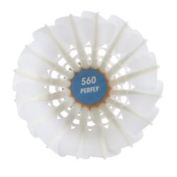 Federbälle Naturfedern FSC 560 Badmintonbälle Speed 77 ×12
