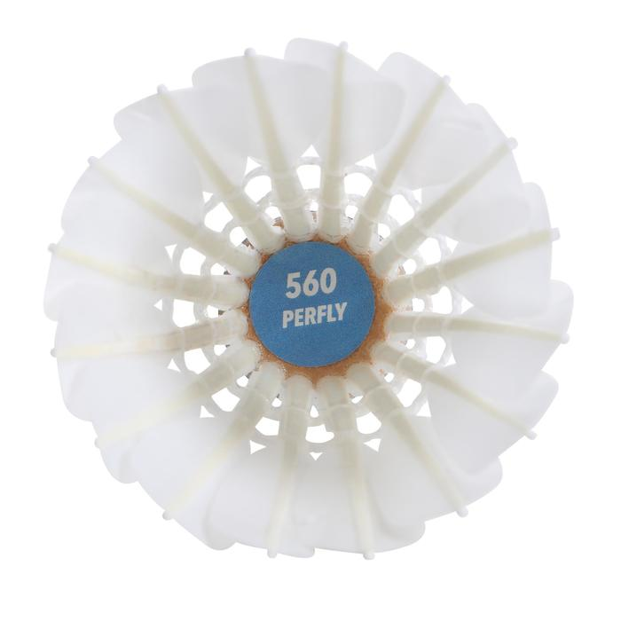 Volant Plume de badminton FSC 560 X 12 Vitesse 77