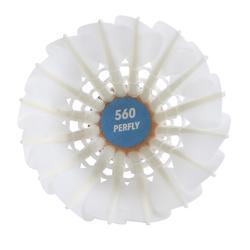 12入羽毛製羽毛球FSC 560 SPEED 78