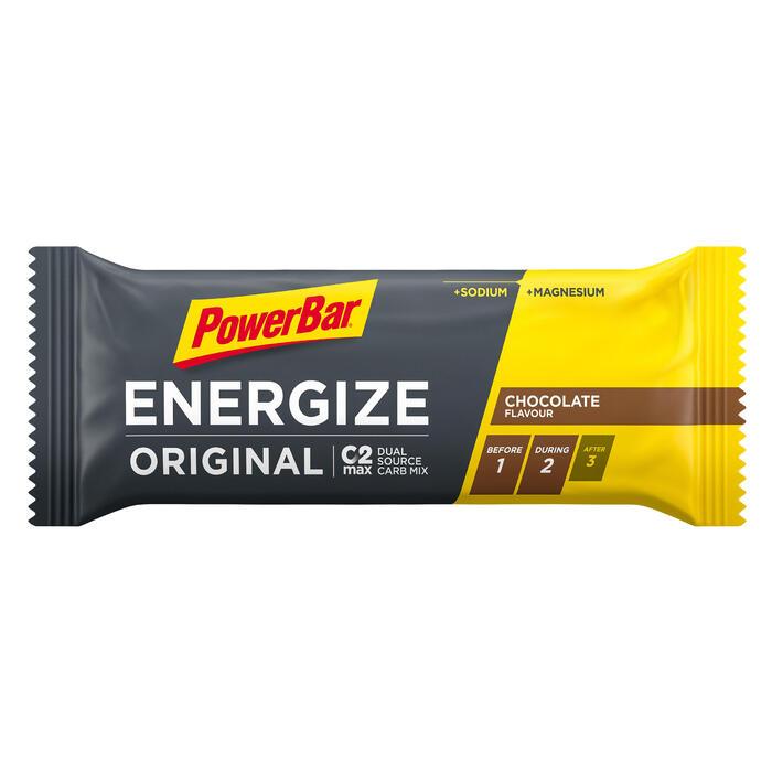 Barrita Energética Triatlón Power Bar Energize C2Max Chocolate 55 G