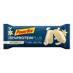 Barrita Proteína Triatlón Power Bar Proteín Plus 30% Vainilla Coco 55 G