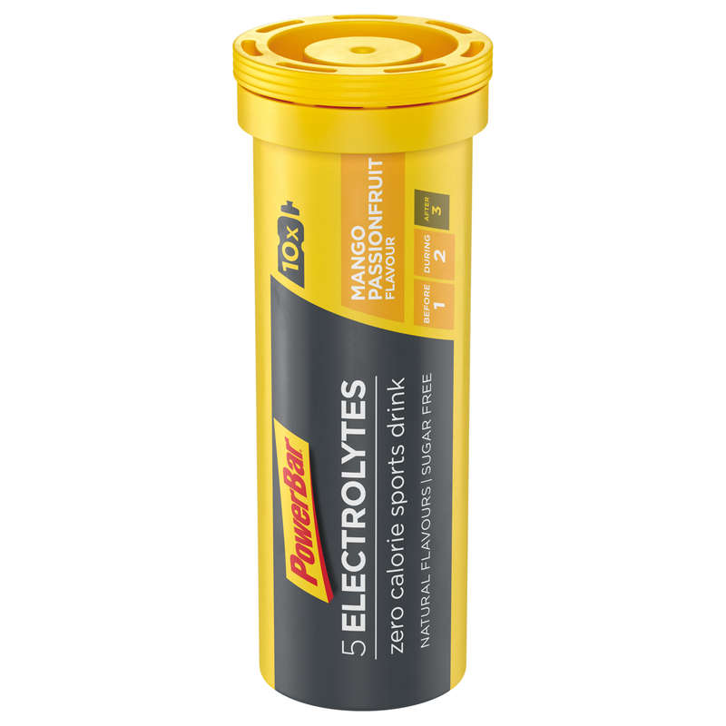 HYDRATION & BEFORE Supplements - ELECTROLYTES 10x4.2g Mango POWERBAR - Sports and Energy Drinks
