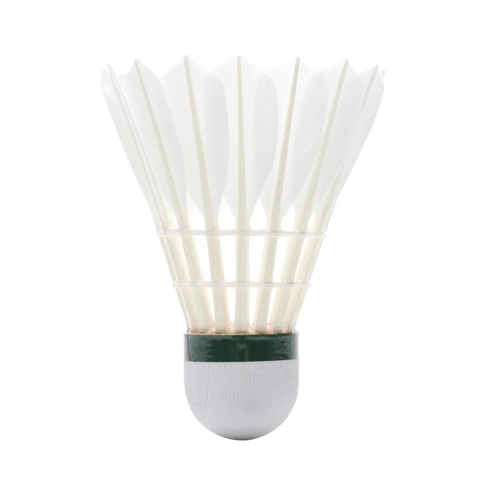 Lot De 12 Volants De Badminton Plumes FSC960 Vitesse 77