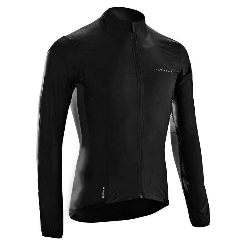 PÁNSKÉ VĚTRUODOLNÉ OBLEČENÍ NA SILNIČNÍ CYKLISTIKU Cyklistika - VĚTROVKA ROADR ULTRALIGHT VAN RYSEL - Cyklistické oblečení