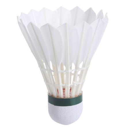 Lot de 12 volants de badminton plumes fsc960 vitesse 78