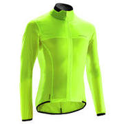 Road Cycling Ultra-Light Long-Sleeved Windproof Jacket - Yellow
