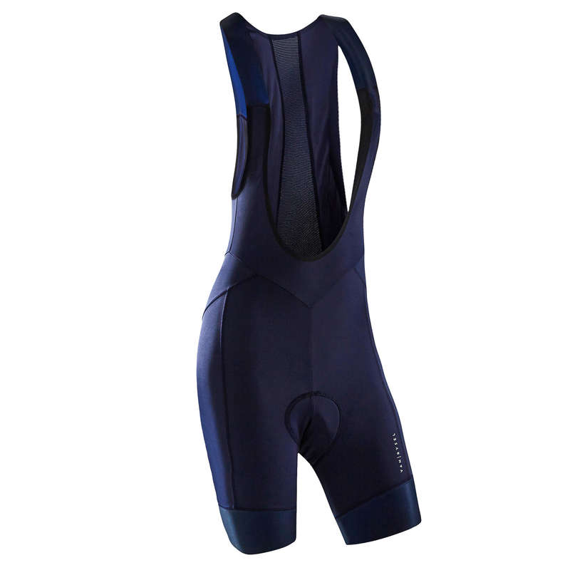 WOMEN WARM WEATHER ROAD APPAREL Clothing - RR 900 Women's Cycling Bib Shorts - Navy Blue VAN RYSEL - By Sport
