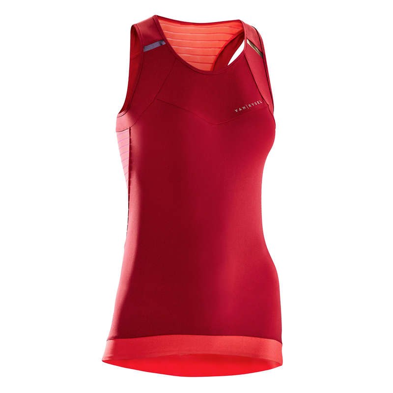 WOMEN WARM WEATHER ROAD APPAREL Clothing - 900 Women's Cycling Tank Top  VAN RYSEL - By Sport