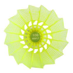 Volant en plastique PSC 100 JAUNE x 6 MOYEN