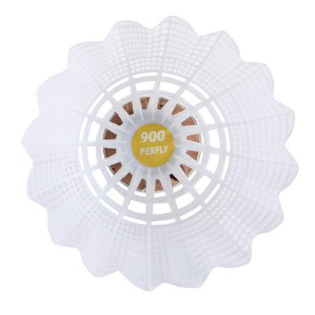 PLASTIC SHUTTLECOCK PSC 900  WHITE x  6 MEDIUM