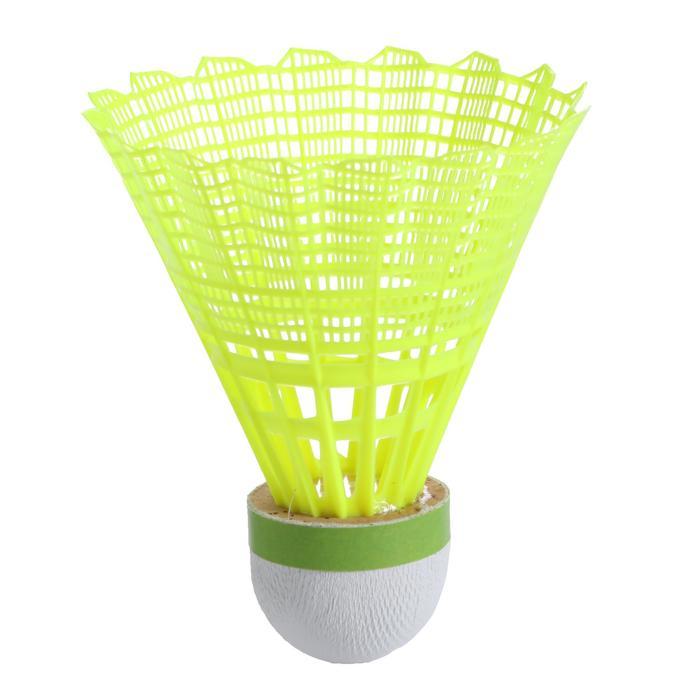 Volants De Badminton En Plastique PSC 900 x 6 - Jaune