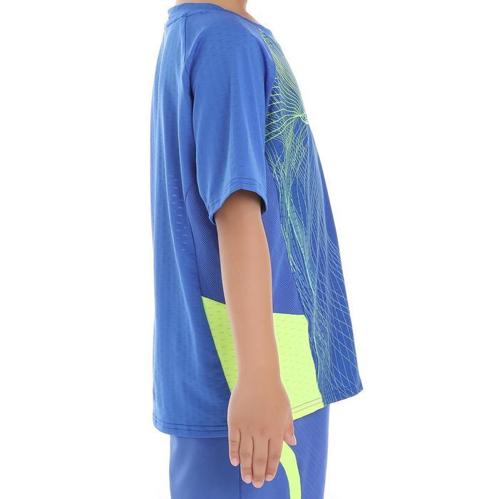 Kinder T-shirt 560 blauw geel