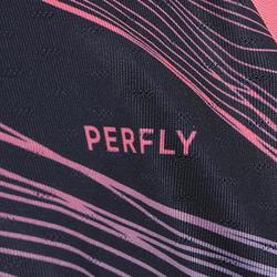 Kinder T-shirt 560 marineblauw roze