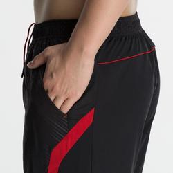 男款短褲560-紅黑配色